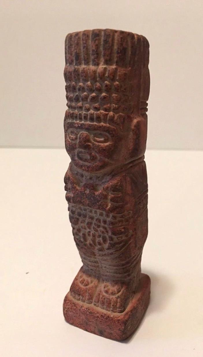 Vintage Mexican Clay Figurine..5