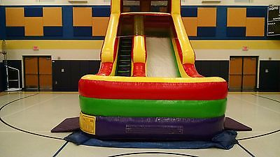 Inflatable Slide Bounce House 18'