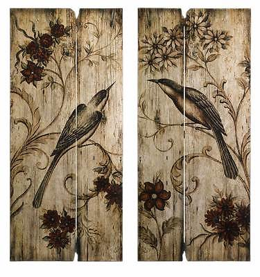 Norida Bird Decor - Set of 2 [ID 72528]