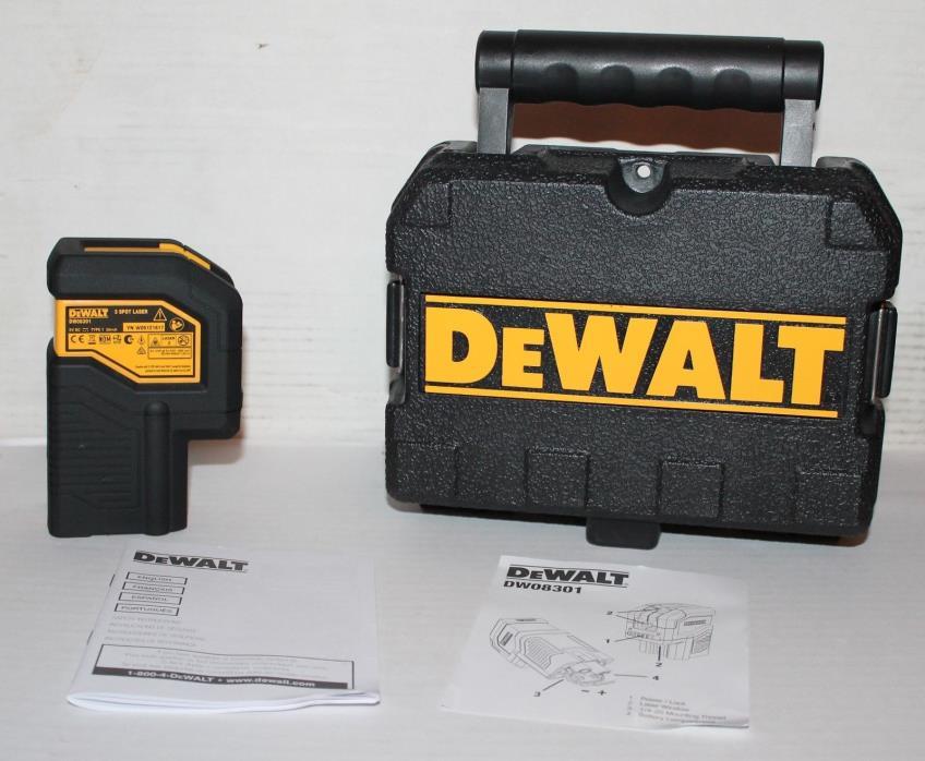 Dewalt 3 Spot Laser Level  DW08301.