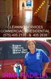 IRMA PADILLA is the PROFESSIONAL----HOUS ES AND OFFICES cleaning