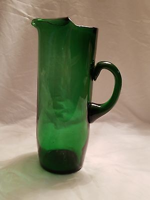 Green Martini Pitcher