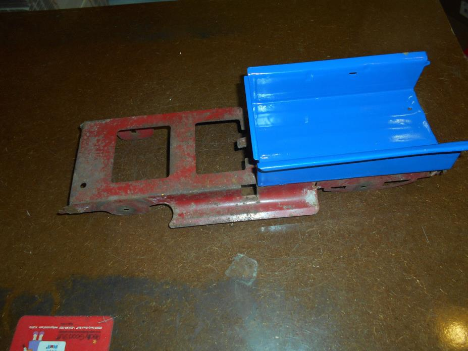 tonka ford truck damage chassis inner bed for parts