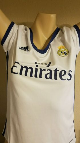 Adidas Real Madrid Women's Home Jersey 16/17-L