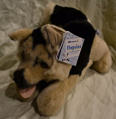 A&A Plush Flopsies German Shepard KONRAD Puppy 13