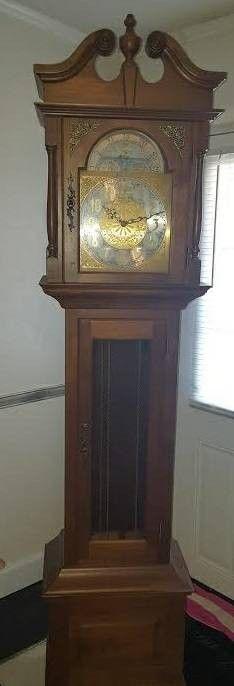 1970's Grandfather Clock