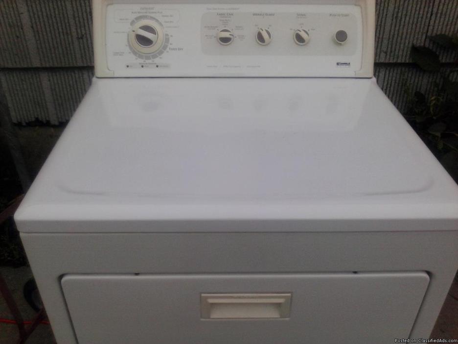 kenmore gas dryer  heavy duty
