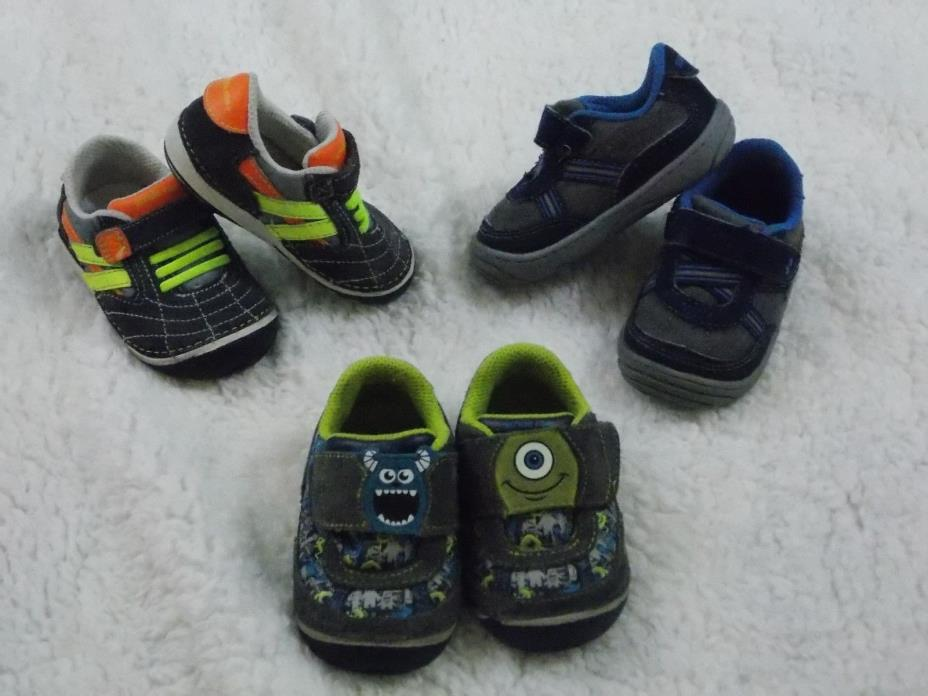 Stride Rite Lot BOYS Toddler Size 4 Monsters Inc
