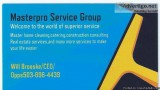 MasterPro Service Grouphome cleaning and construction consulting