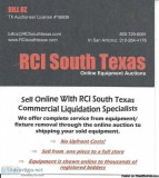 Restaurant Commercial Industrial auctions by Licensed Auctie