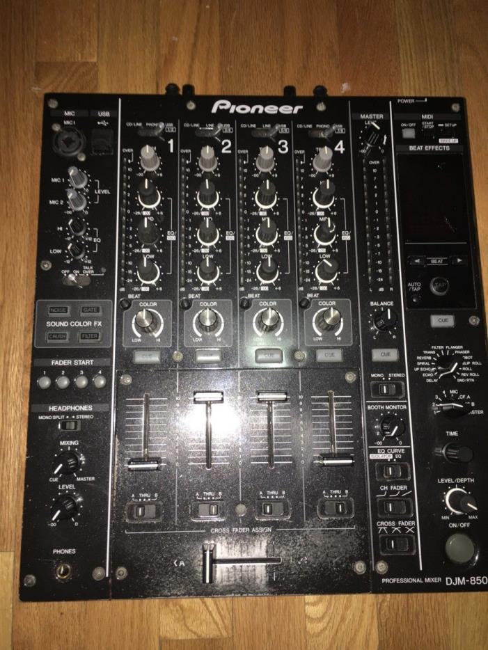 Pioneer DJ DJM-850-K DJ Mixer