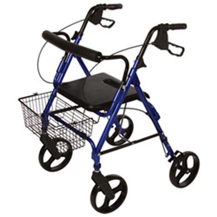 ITA-MED 4-Wheel Aluminum Rollator Walker, 8