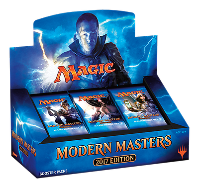 MODERN MASTERS 2017 SEALED CASE (4X BOXES) - MTG (ship March 17)