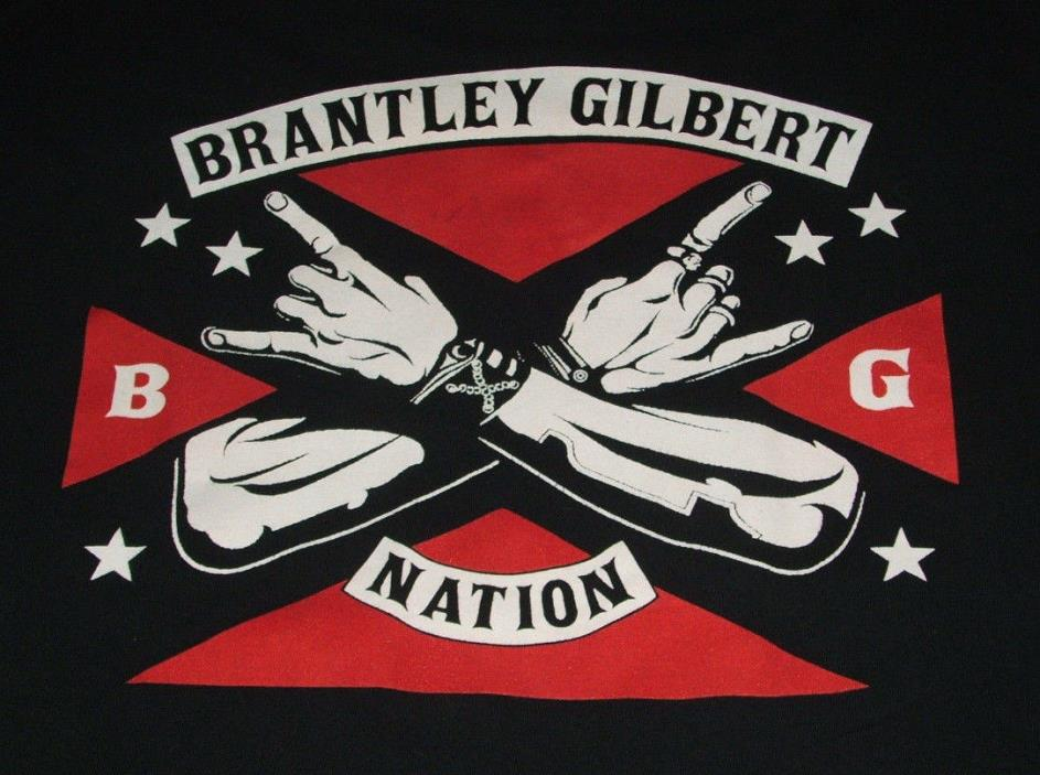 Brantley Gilbert T Shirt XL Stone Cold Country