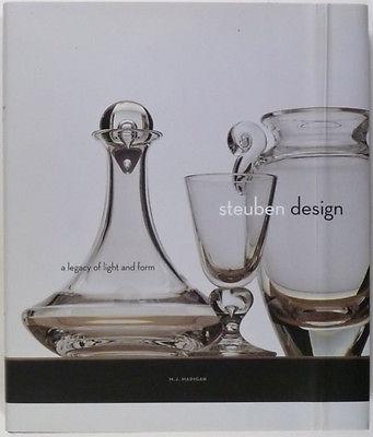 Antique Steuben Glass - Beautiful Crystal Art Glass Glassware Book
