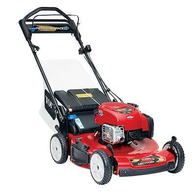 Toro 22 Personal Pace Recycler Variable Self Propelled LawnMower Electric Start!