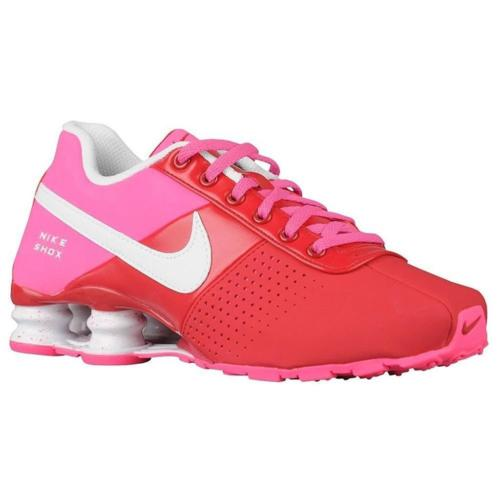 New NIKE Shox Deliver Running Jogging Shoes Size 6.5 Kids (Womens 8) Red Pink