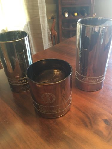 Vintage SNAP-ON Glasses Set Of 3 USA