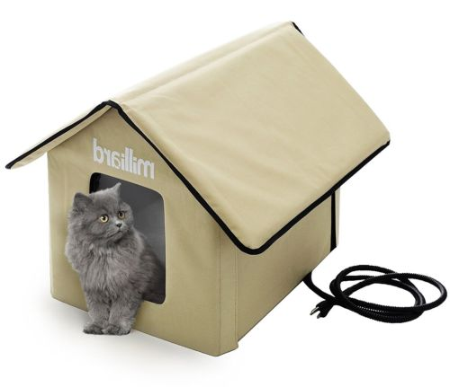 Pet Dog Cat House Outdoor Small Dog Kitty Home Bed Collapsible Portable Stylish