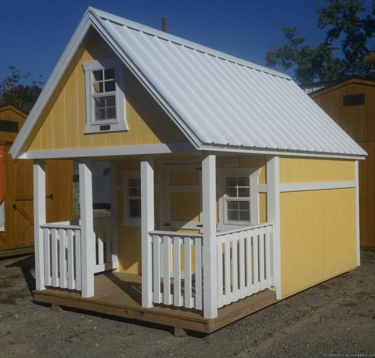 Amish Built Painted Clubhouse