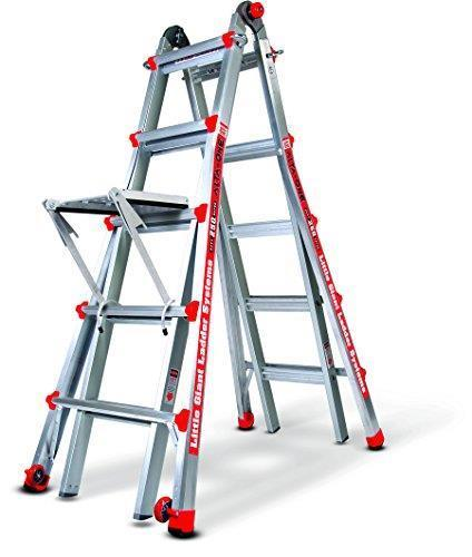 Little Giant Alta One 22 Foot Ladder with Work Platform