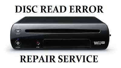 Nintendo Wii U Disc DVD Drive Read Error Repair Service