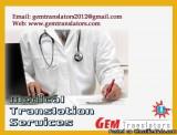 Medical Translation Services in Languages