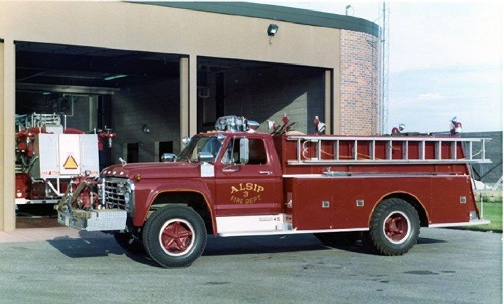 1974 Ford Darley Fire Truck Alsip Illinois Factory Photo ca6248