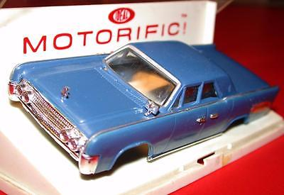 Vintage 1960's Ideal MOTORIFIC 1963 LINCOLN CONTINENTAL Suicide Doors Blue Body