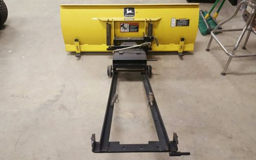 john deere 325 snow plow bade