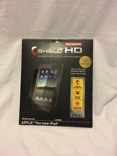 Invisible Shield HD Protective Screen Apple Ipad 2 Ipad 3