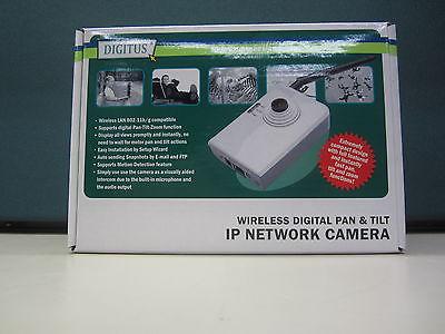 IP NETWORK CAMERA WIRLESS DIGITAL PAN & TILT