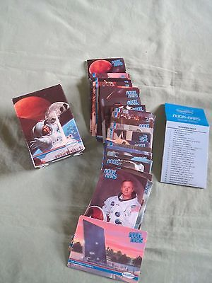 MOON-MARS=1991=SPACE SHOTS=36 CARD SPECIAL EDITION