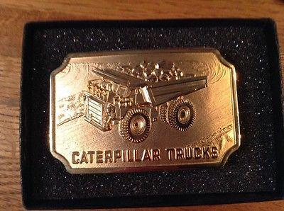 Caterpillar Construction Truck Yuke Mining Equipment1988 SalesGuide Belt Buckle
