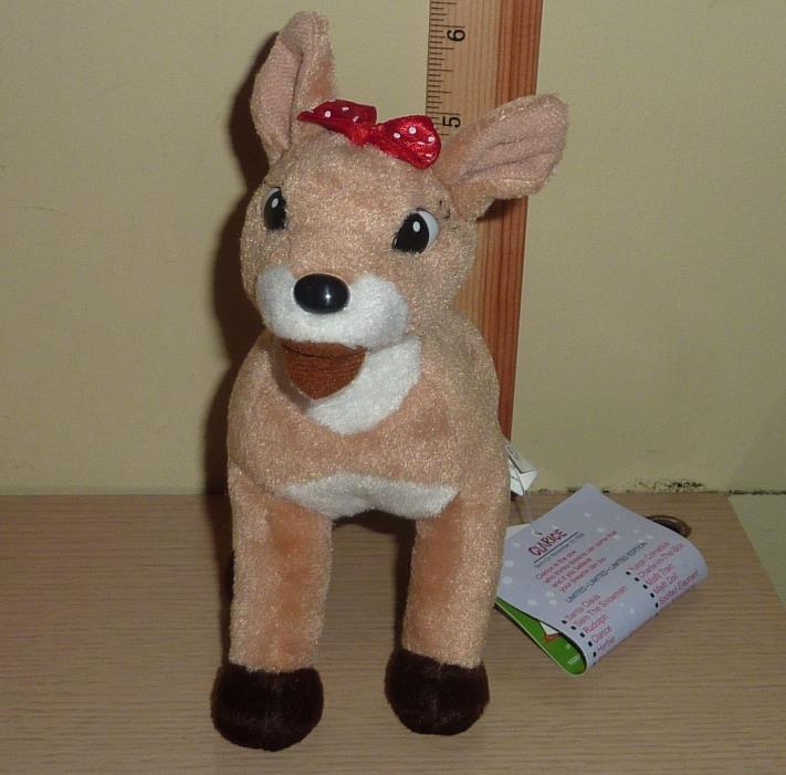 1998 CVS Stuffins Rudolph Island of Misfit Toys Beanbag Plush ~ Clarice