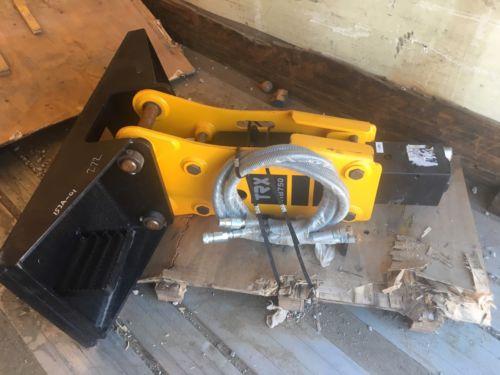 2017 TRX HB750 Hydraulic Concrete Breaker Hammer Attachment AB401612107