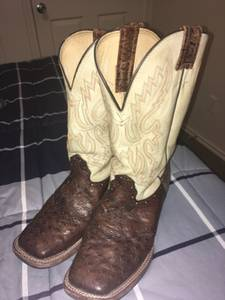 Full quill ostrich Cavenders Boots