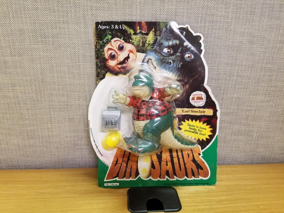 Hasbro Dinosaurs TV Show Earl Sinclair Action Figure, Brand new!