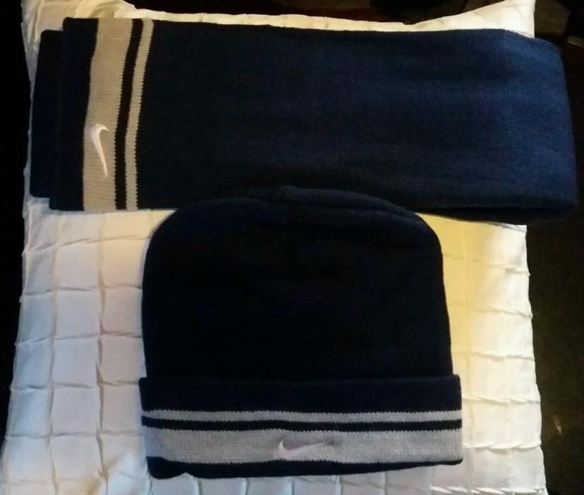 NIKE HAT AND SCARF SET
