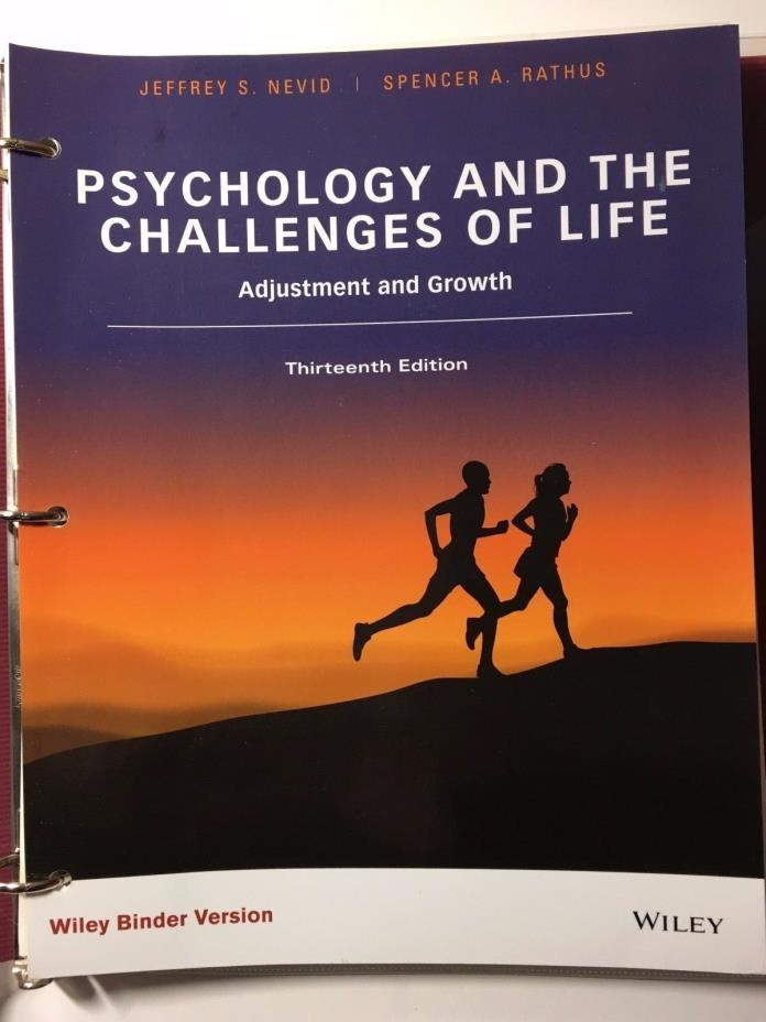 Psychology and the Challenges of Life Adjustment and Growth 13th Edition NEW
