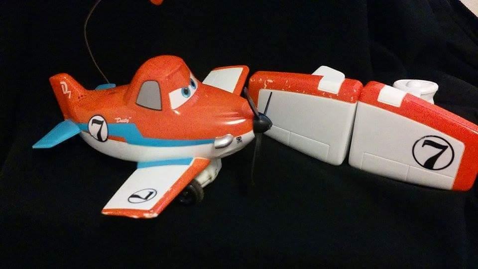 Disney Planes Wing Control Dusty Crophopper Radio Control Plane!!