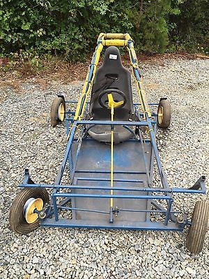 Full-sized racing go cart frame