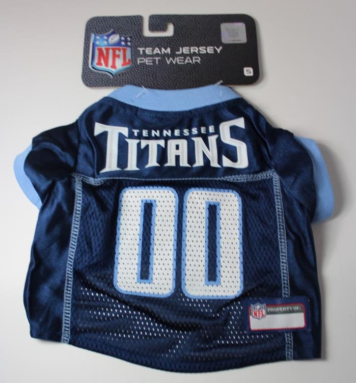 Tennessee Titans Dog Pet Jersey Size Small 8