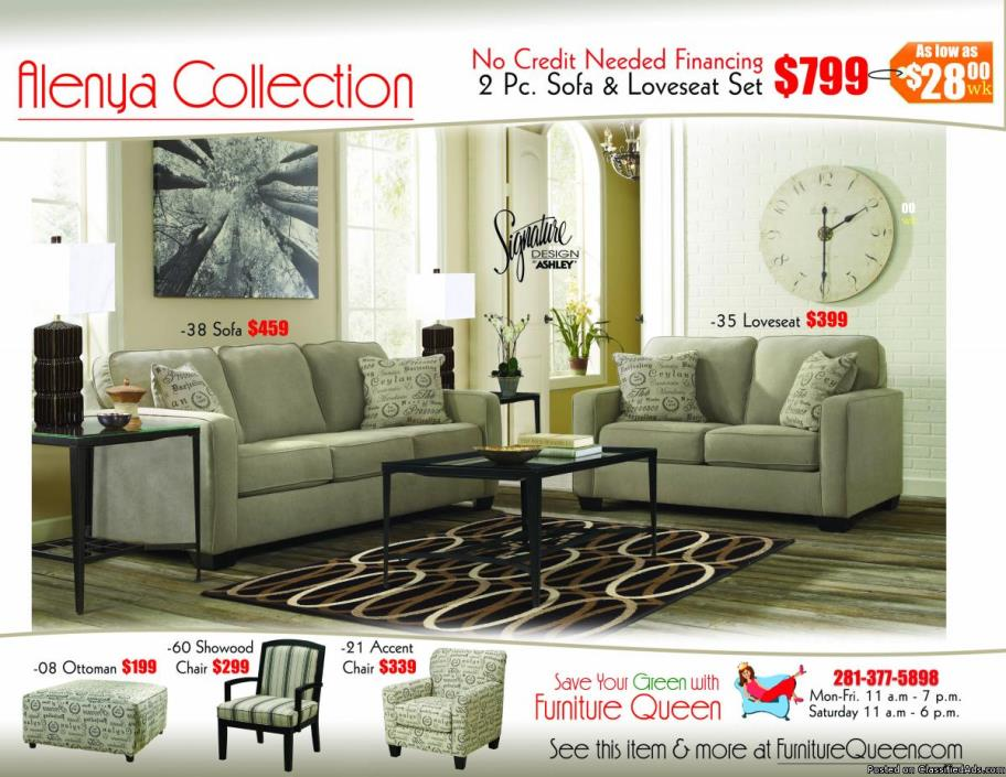 Alenya Quartz Sofa & Loveseat by Ashley Furniture!
