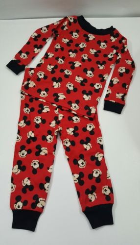 Disney 18 months Mickey Mouse pajamas