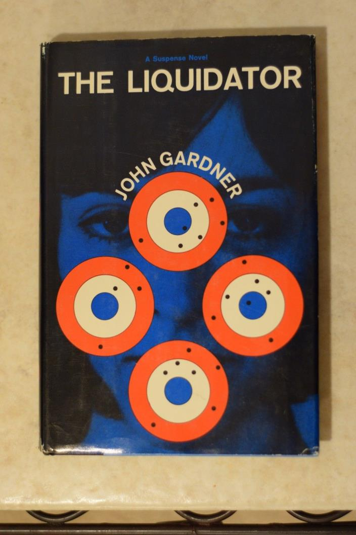 1964 John Gardner The LIQUIDATOR suspense novel book