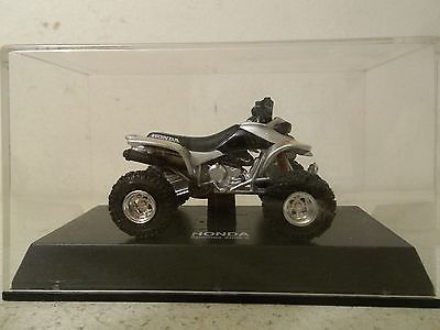 2006 NEW RAY 1/32 SCALE SILVER HONDA TRX400EX TRX 400EX ATV QUAD 4 WHEELER