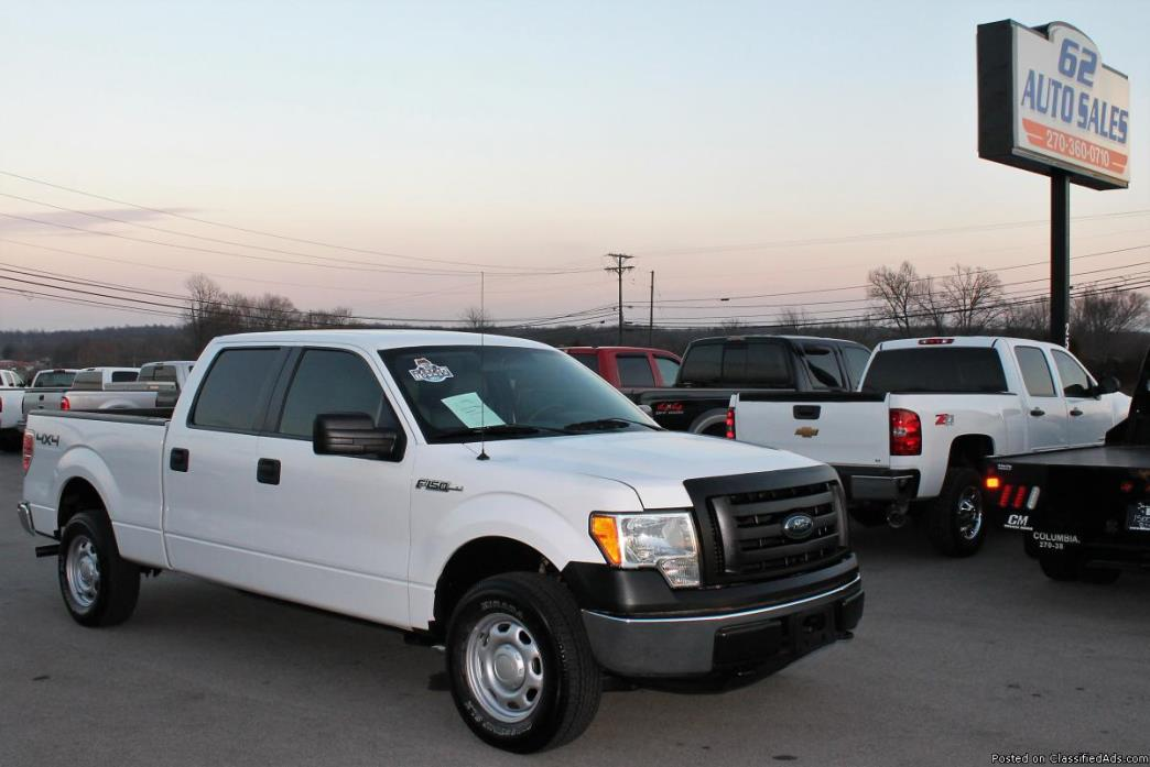 *ONE OWNER* 2011 Ford F-150 Crew Cab 4x4  **CLEAN SOUTHERN TRUCK**