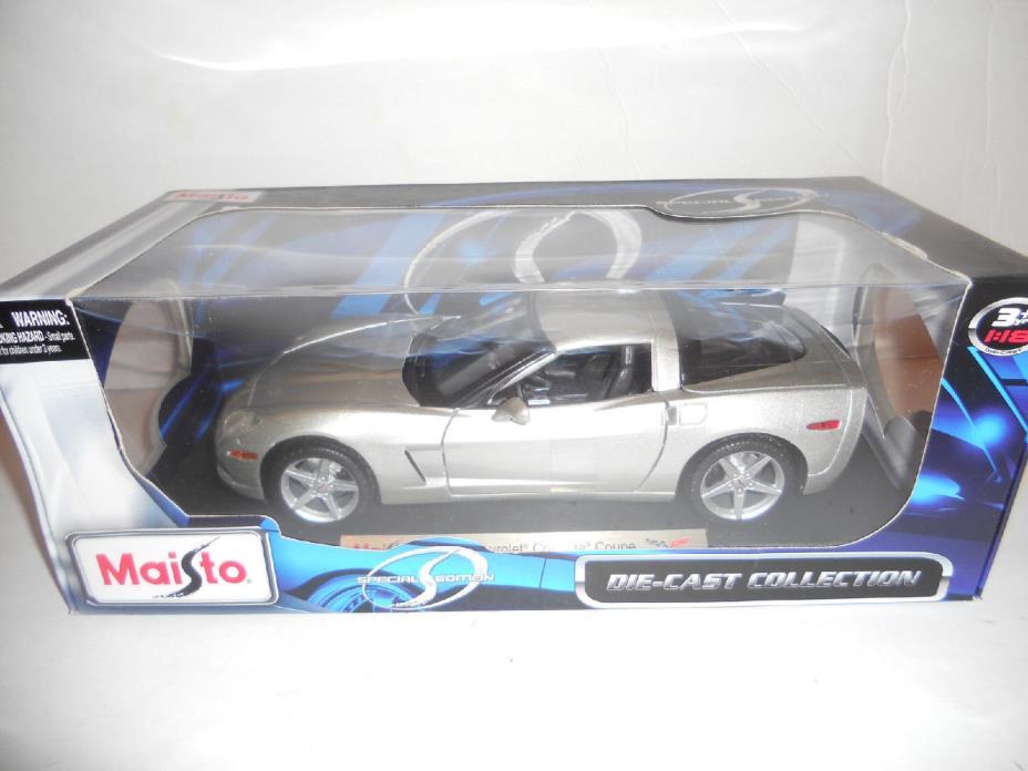 Maisto Diecast Special Edition 2005 Chevrolet Corvette Coupe 1:18 Scale