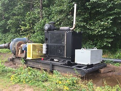 GIW 10x12 Dredge Booster Pump 2008 Self Contained